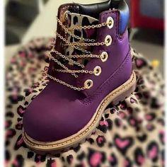 Purple Timberlands