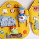 Robi szerelő és Rozsdi róka  szerelő-gombaműhelye - rendelésre!, Baba-mama-gyerek, Játék, Készségfejlesztő játék, Baba, babaház, Meska Felt Mushroom, Felt Quiet Books, Sick Kids, Books For Boys, Busy Book, Book Girl, Book Activities, Book Lovers, Children