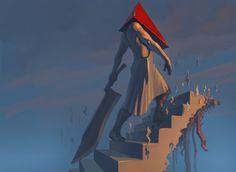 Pyramid Head (Silent Hill series) by glooh