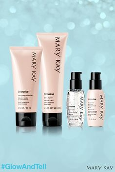 It's time to wise up with TimeWise® so you can Glow and Tell everyone about your radiant skin! | Mary Kay