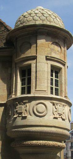 une échauguette, Dijon,