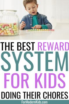 The only chore reward system you need that teaches kids responsibility, positive reinforcement and that their contributions at home are valued. Chores for kids and the reward system will encourage them for being responsible and capable. That's where chore reward system ideas really work! #choresforkids Teaching Kids, Kids Learning, Chore Rewards, Reward System For Kids, Chores For Kids By Age, Charts For Kids, Do What Is Right, Bedtime Routine, Positive Reinforcement