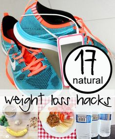 Health and Fitness. 17 Natural Weight Loss Hacks - www.howdoesshe.com