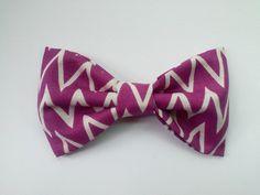 Chevron hair bow chevron fabric hair bow fabric by GabeAndJuju