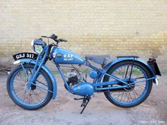 1947 Royal Enfield Flying Flea 125cc Priced at £3,150.00. First registered on the 23rd of August 1947, this striking machine is finished in RAF blue. The Flying Flea was used extensively in WW2, often being parachuted into action; must have given the Germans a few headaches!