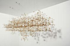 Made of Dandelion Seed Heads. STUDIO DRIFT FRAGILE FUTURE CHANDELIER 3.4. Carpenters Workshop Gallery | Works