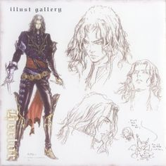 Hector concept art (Curse of Darkness) Character Concept, Character Art, Concept Art, Character Design, Castlevania Anime, Realistic Pencil Drawings, Art Through The Ages, Drawn Art, Manga Anime