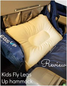 A Travel Product That Turns Planes Economy Seat Into Bed To Help Kids Sleep