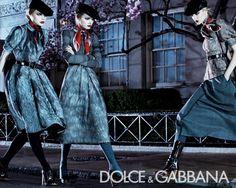 Dolce & gabbana F/W 2008 Ad Campaigns