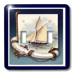Ships and Boats on Electrical Wall Plates