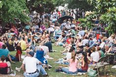 June 14, 2014: Tunes from the Tombs Music Festival at Historic Oakland Cemetery in Atlanta.