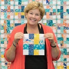 Join Jenny as she shows us how to create the Dream Weaver Quilt! - Join Jenny as she shows us how to create the Dream Weaver Quilt! Jellyroll Quilts, Scrappy Quilts, Easy Quilts, Mini Quilts, Missouri Star Quilt Tutorials, Quilting Tutorials, Quilting Projects, Quilting Designs, Msqc Tutorials