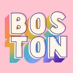 hat's up Boston? Can't wait to come play July We will be there to eat all the seafood and teach a lettering workshop. Types Of Lettering, Lettering Design, Hand Lettering, Branding Design, Logo Design, Typography Letters, Typography Poster, Creative Typography, Type Design