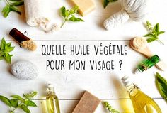 huile-végétale-visage Natural Remedies For Pimples, Pimples Remedies, Homemade Acne Treatment, Types Of Acne, Acne Free, Carrier Oils, Natural Cosmetics, Diy Beauty, Coco