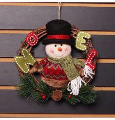 Noel 2017 Navidad Christmas Pendant Chrsitmas Drop Ornaments Christmas Decorations For Home Christmas Wreaths, Christmas Decorations, Christmas Headbands, Christmas Ornaments, Holiday Decor, Garland Hanger, Vine Wreath, Festival Party, Party Supplies