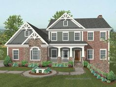 Eplans Craftsman House Plan - Stunning Hillside Home - 2493 Square Feet and 4 Bedrooms from Eplans - House Plan Code HWEPL66091