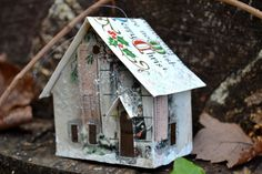 Recycled Christmas cards!