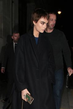 Cara Delevingne seen leaving Waterstones Piccadilly after her book signing on October 4 2017 in London England