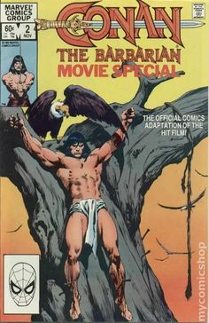 Conan the Barbarian Movie Comic Book Special Part 2 of 2.