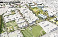 The Willowbrook Martin Luther King Wellness Community Campus Master Plan and Community Vision - Architizer