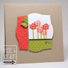 Snappy Stampin' w/ Arielle: AWESOME BLOSSOM / using the Alley Way Stamps Awesome Blossom