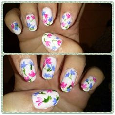 #DIY #nailart