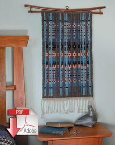 Northern Colors Bound Weave - Pattern download