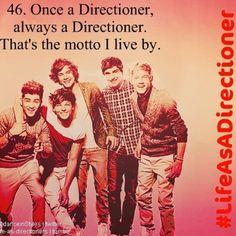 Once a Directioner, always a Directioner!