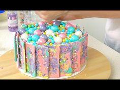 tye die white chocolate - Rainbow Chocolate Cake - CAKE STYLE - YouTube