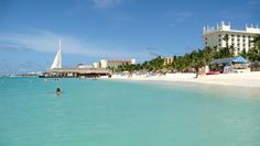 Aruba's one of the best islands in the Caribbean! It's a perfect travel destination for couples, families and even solo travelers. From spending the day with flamingos to snorkeling with sea life, here are the best things to do in Aruba… Best Beach In Aruba, Palm Beach Aruba, Aruba Aruba, Beach Images, Beach Pictures, Tanzania, Trinidad, Puerto Rico, Cuba