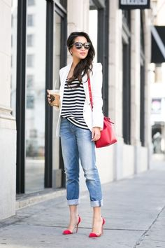 Best Spring And Summer Outfit Ideas With Flat Shoes 31