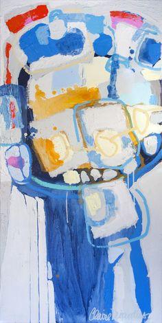 """Saatchi Online Artist: Claire Desjardins; Acrylic 2011 Painting """"Rhythm"""""""