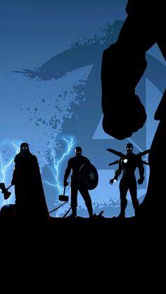 Captain America, Avengers: End Game Iron-man Thor - Marvel - Marvel Avengers, Marvel Heroes, Marvel Films, Marvel Characters, Logo Super Heros, Wallpaper Marvel, Iron Man Stark, Marvel Captain America, The Villain