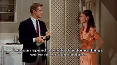 Breakfast at Tiffany's Of course, I can't think of anything I've never done