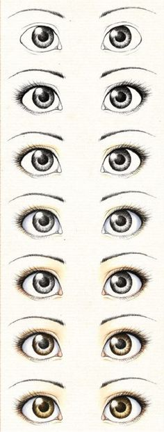Lesson of painting the eyes