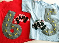 Activity Car Shirt - Clever Shirts - Ideas of Clever Shirts - Car shirts. Cant wait to make these. the boys love their little cars and I can just imagine them laying down and driving on each others bellies Childrens Sewing Patterns, Sewing For Kids, Baby Sewing, Toddler Boy Birthday, Birthday Boy Shirts, Baby Shirts, Cute Shirts, Car Activities, Shirt Tutorial