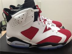 2014 100% Authentic DS Nike Air Jordan Vl 6 Retro Carmine Shoes http://www.perfectsneakers.com/2014-100-authentic-ds-nike-air-jordan-vl-6-retro-carmine-shoes-p-38445.html