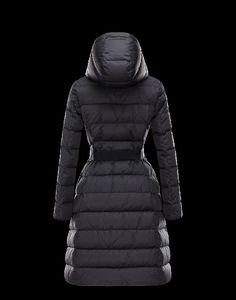 moncler mantel schwarz damen