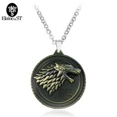 18 styles Game of Thrones Metal Necklace //Price: $11.99 & FREE Shipping //     #gameofthronesfamily