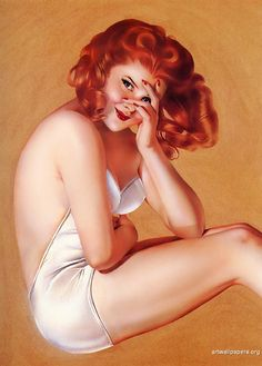 Alberto Vargas. Pin up girl!