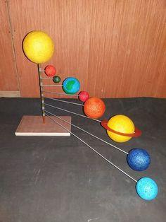 Three's the charm: Three ways to Solar System Model Project, Solar System Science Project, Solar System Projects For Kids, Solar System Activities, Solar System Crafts, Solar System Planets, Science Projects For Kids, Space Projects, Science For Kids