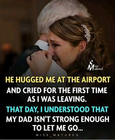 Mom And Dad Quotes, Me Quotes, Self Development, Personal Development, Father And Baby, Love You Dad, Everything About You, Hug Me, Your Man