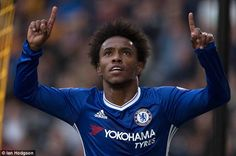 Willian has said he wants to finish career with Chelsea and extend his deal beyond June 2020