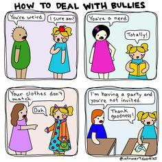 Bullies | Introvert doodles