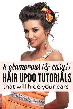 Whether you (or your daughter) are self-conscious of your ears like I am, these easy tutorials are just what you need to teach yourself how to look glamorous this summer!