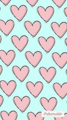 Heart wallpaper, kawaii wallpaper, pink wallpaper, lock screen wallpaper, w Heart Wallpaper, Tumblr Wallpaper, Cute Wallpaper Backgrounds, Wallpaper Iphone Cute, Love Wallpaper, Pretty Wallpapers, Aesthetic Iphone Wallpaper, Lock Screen Wallpaper, Aesthetic Wallpapers
