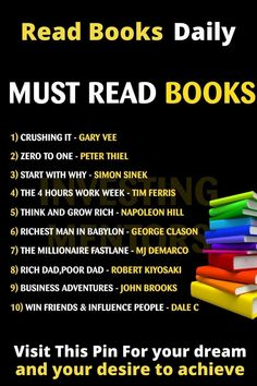 Top Books To Read, I Love Books, Good Books, Reading Lists, Book Lists, Effective Study Tips, Personal Development Skills, Internet Offers, Entrepreneur Books