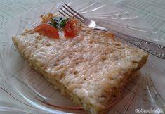 Fotorecept: Slaný cuketový koláč Grains, Appetizers, Bread, Cheese, Fit, Basket, Shape, Appetizer, Brot