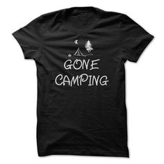 Gone Camping T Shirts, Hoodies. Check price ==► https://www.sunfrog.com/Outdoor/Gone-Camping-T-Shirt.html?41382 $22.95