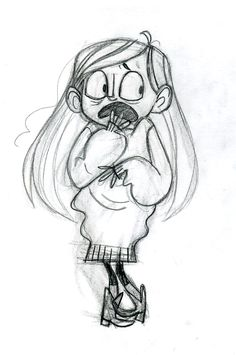 Gravity Falls - Character Design